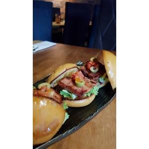 German Smoke Bacon Patty Mini Burger