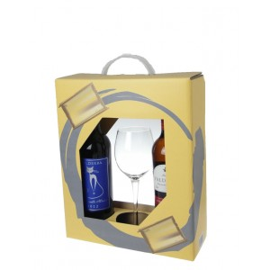 Gift Pack (Valderba Macabeo+Valderba Tempranillo Merlot+Wine Glass)