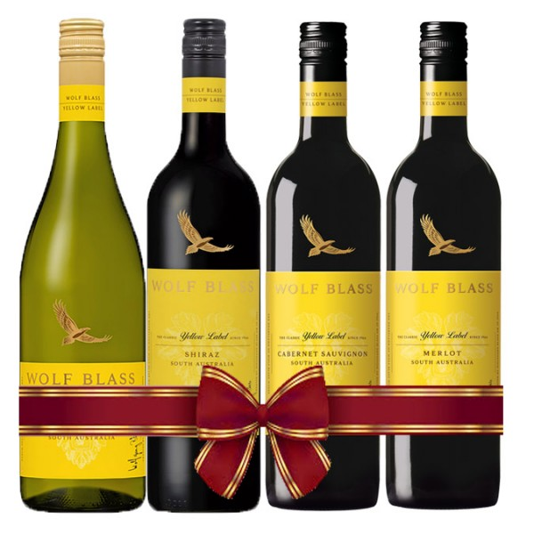 Wolf Blass Yellow Label Set Promotion